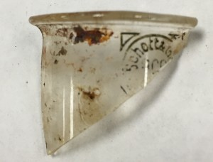 Schott & Gen Lab Glass Fragment