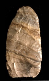 Paleoindian point - image provided by Dr. Lovis