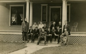 Group of Subfaculty at Station Terrace - Photo courtesy of MSU Archives & Historical Collections
