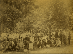 Horticulture Students 1884 - Image from MSU Archives & Historical Collections Flickr