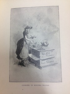 Illustration of boiling from Cookery in the Public Schools (1890). Image courtesy of MSU Special Collections.