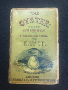 In the 1800s, people loved oysters so much they wrote books on them. Courtesy of MSU Special Collections