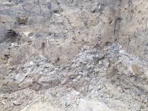 Gravel layer.