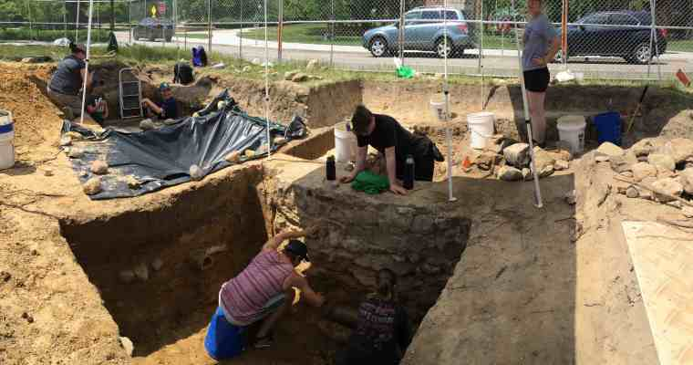 MSU Campus Archaeology, The Future, and Day of Archaeology