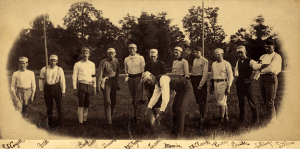 1884 M.A.C. football team. Courtesy of MSU Archives and Historical Collections.