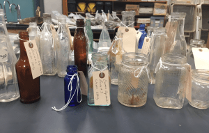 A selection of bottle from the Brody/Emmons complex.