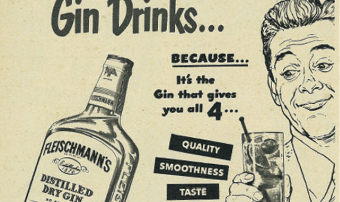 Looking for Some Gin-spiration: Fleischmann's Gin from The East Lansing Dump