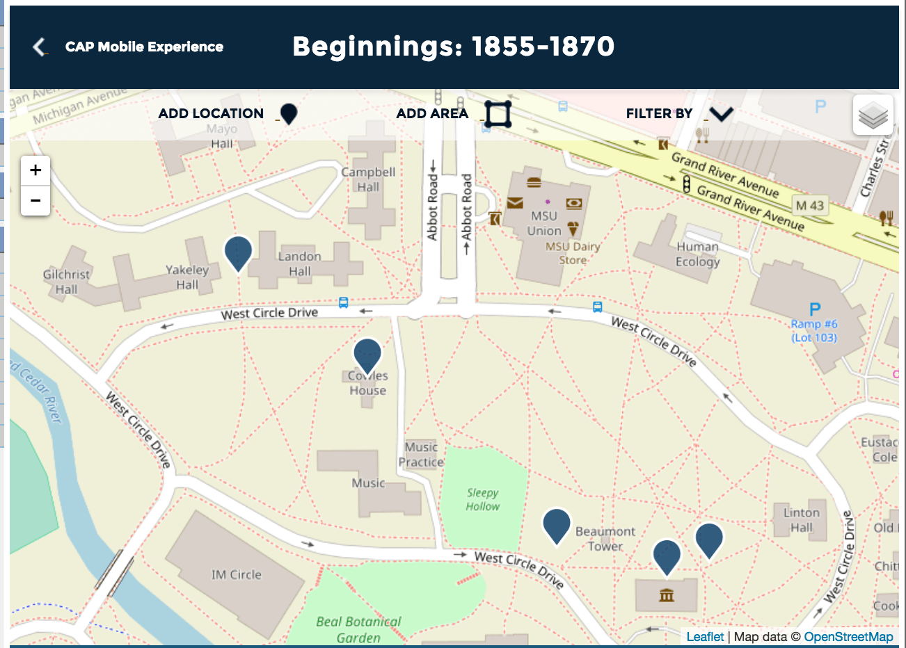 Campus as Museum: A Campus Archaeology Mobile Experience