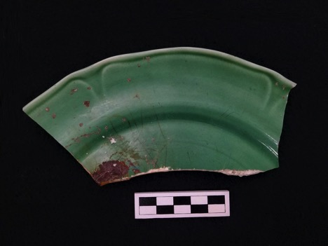 The Mount Clemens Pottery Co. Plate Sherd from the Brody/Emmons Complex