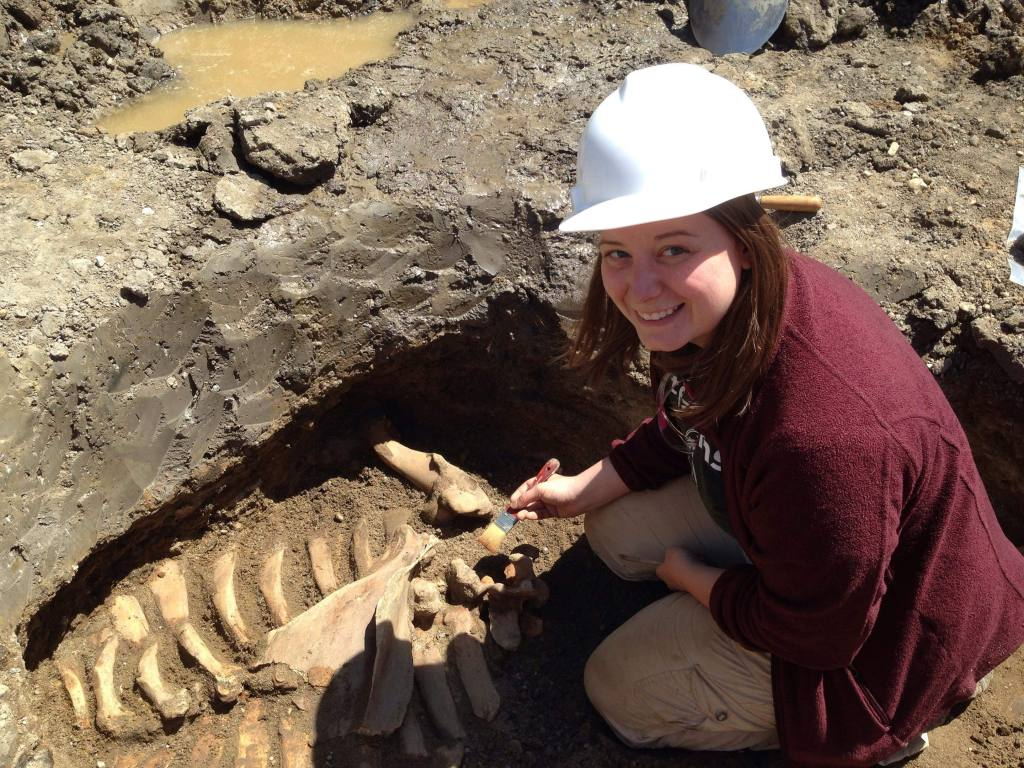 Autumn Painter, Campus Archaeologist