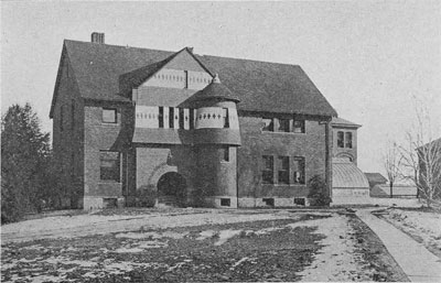 Horticulture Laboratory (now Eustace-Cole Hall), dated to 1913 (Beal 1915:88).