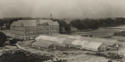 Horticulture Building (now Old Horticulture), undated photograph. Image courtesy of MSU Archives and Historical Collections.