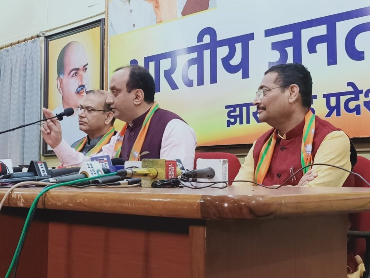 BJP avoids question on criminalization of politics