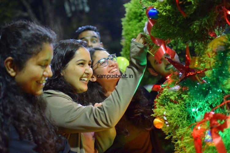 [Photos] Christmas Celebration at IIM Bangalore