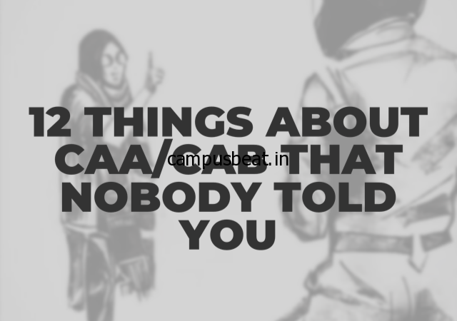 12 Things About CAB That Nobody Told You