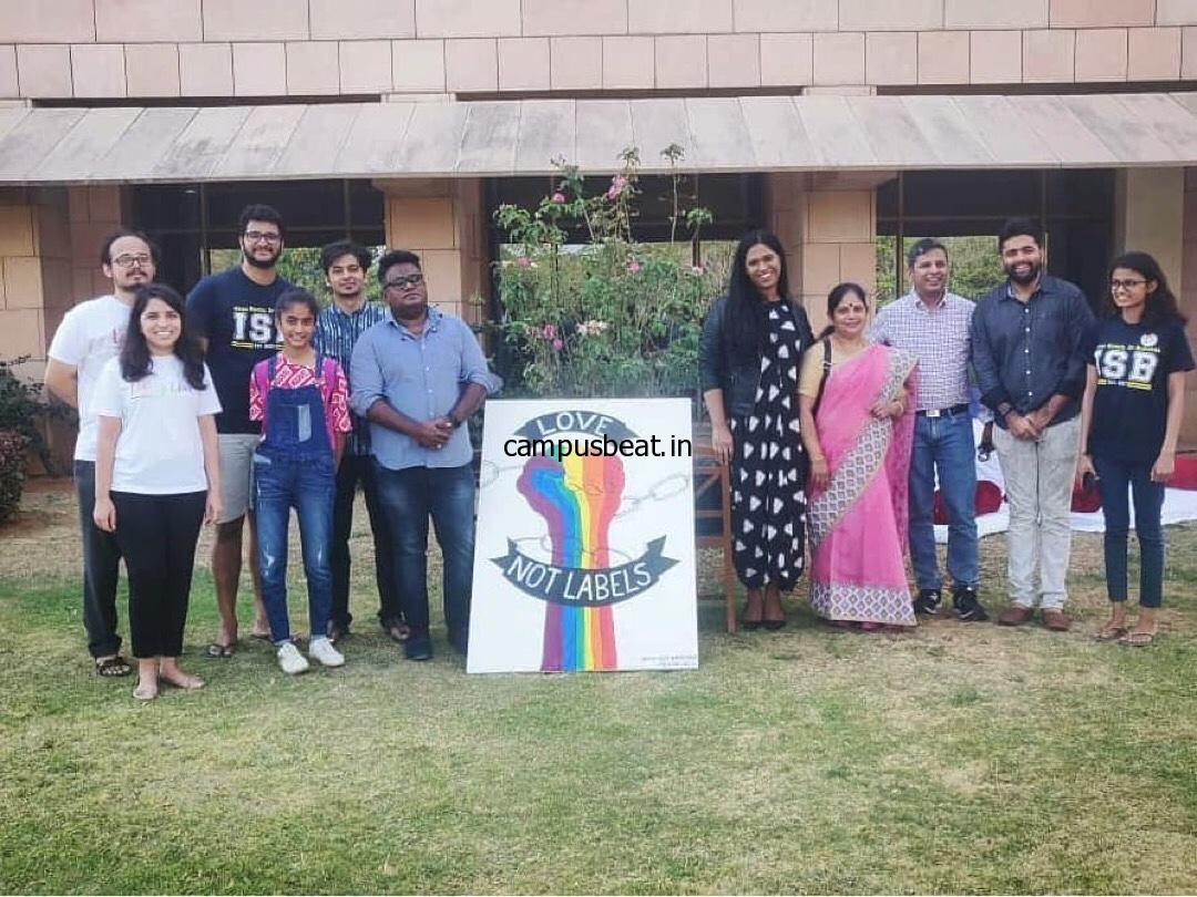 LGBTQIA+ meet at ISB Hyderabad