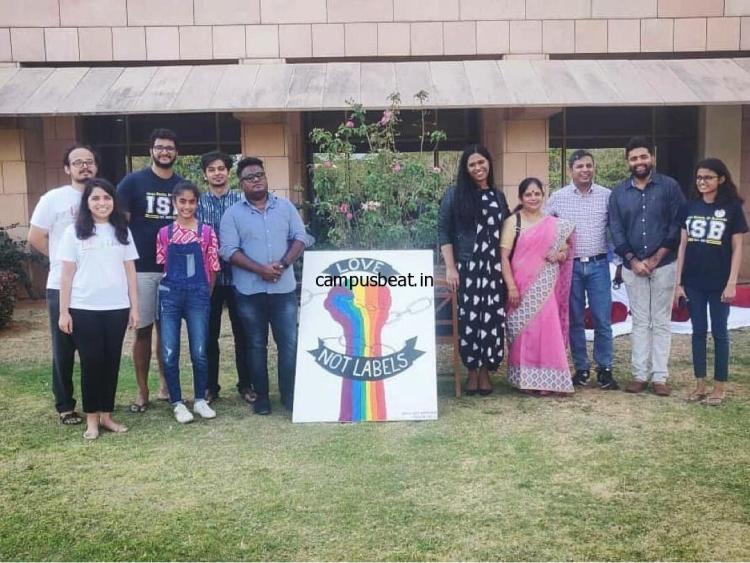 LGBTQIA+ meet at ISB Hyderabad