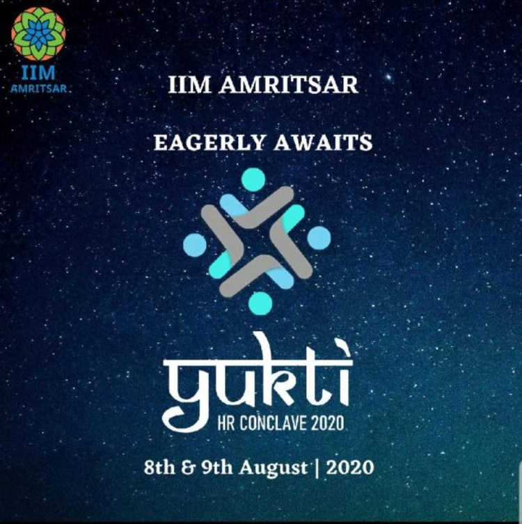IIM Amritsar is all set to host its Annual HR Conclave- Yukti'20