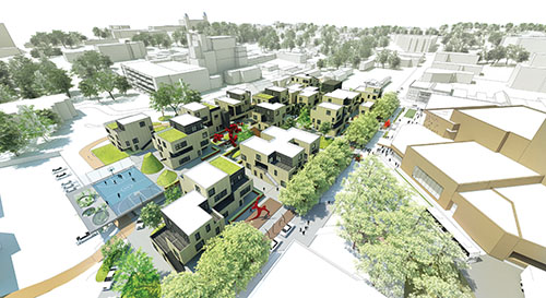 Urban Housing Plan Receives National ACSA AIA Housing Design