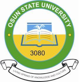 UNIOSUN Notice To Post-UTME Candidates 2017/2018