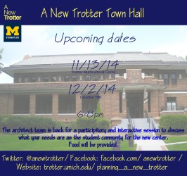 A New Trotter Town Hall Meeting Campus Involvement
