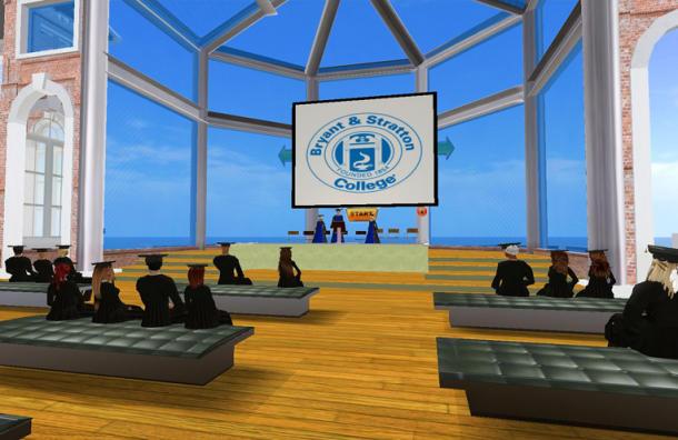 Second Life Graduation Ceremony