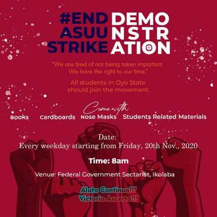 ASUUSTRIKE: UItes are ready to protest!