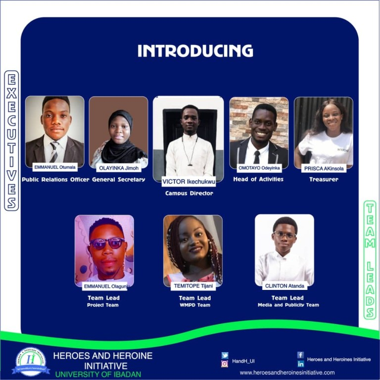 Heroes and heroines inaugurates Executives in Ui