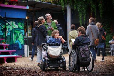 Der barrierefreie Zugang für Rollstuhlfahrer*innen ist dieses Jahr besonders gut.