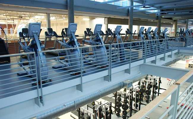 Iowa State University S Unique Fitness Floor Layout