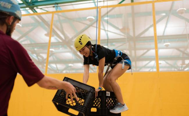 Crate Stacking A Different Way To Climb Campus Rec Magazine