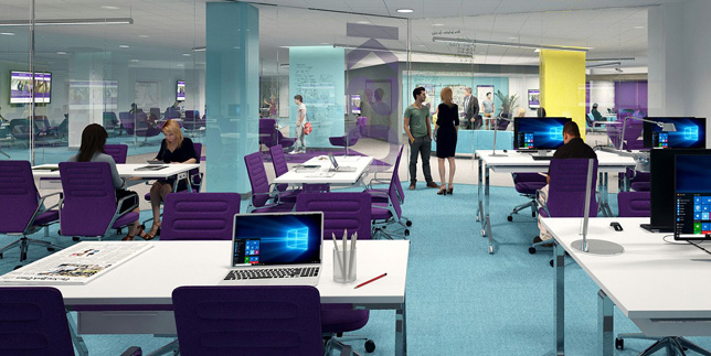Kansas State Library Upgrade To Add Group Study Rooms Event Space