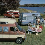 Campwagon par excellence - Advertising leaflet for Dodge Camping