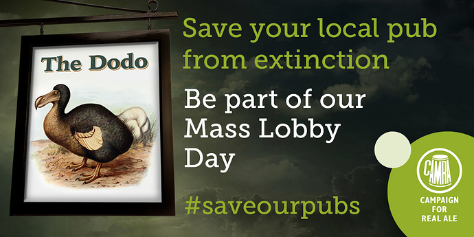 Save Our Pubs – Mass Lobby Day