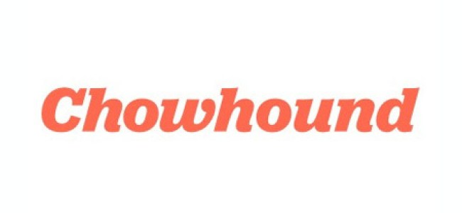 Chowhound Writing Samples