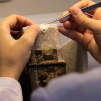 Conservation of rare books