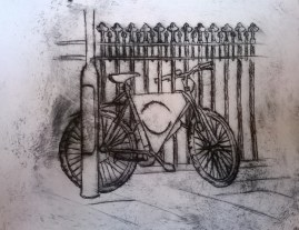 Student year 11, Dry point