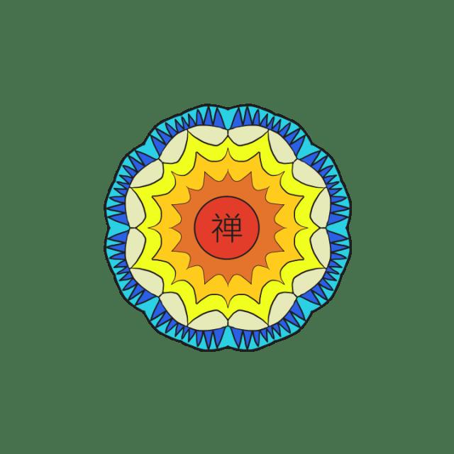 Basic Colour Flower Mandala
