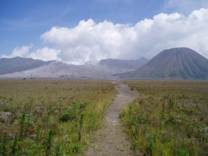 Path to Gunung Bromo