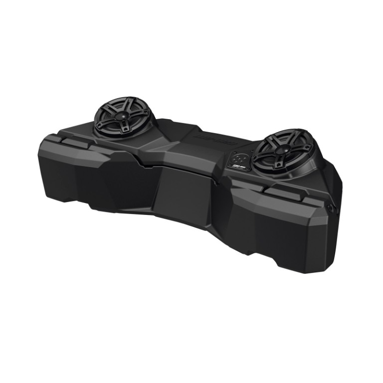 linq 115 gal (43l) audio cargo box audio communication systems - can am  outlander