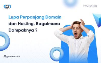 Lupa Perpanjang Domain dan Hosting, Bagaimana Dampaknya ?