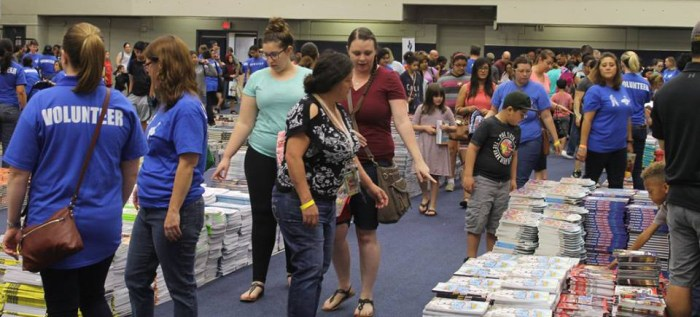 First Book Giveaway Northside ISD