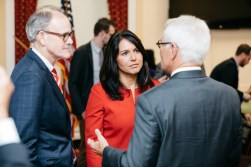 U.S. Representative Tulsi Gabbard meets with NORML Congressional Lobby Day attendees