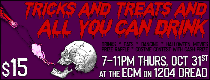 $15 All You Can Drink Hween Bash!