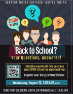 Back To School Webinar Poster