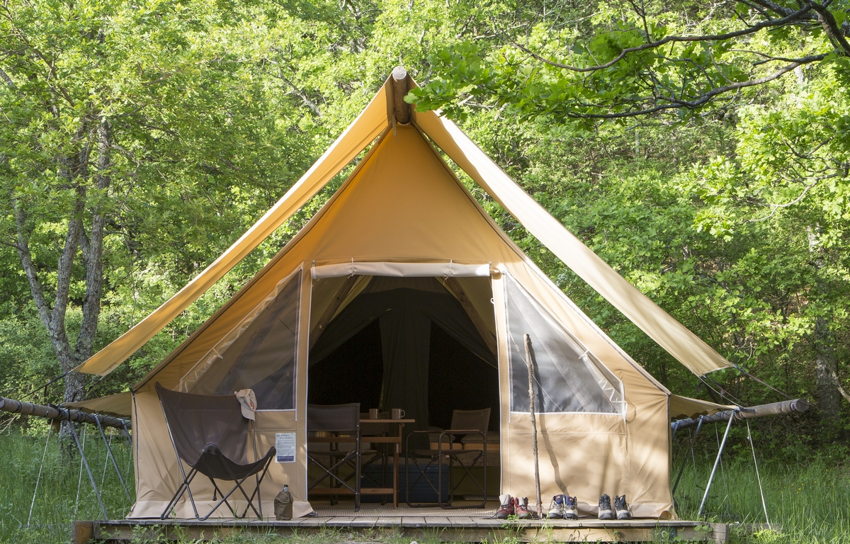 Canadian Tent Huttopia Canada