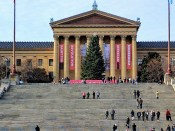 The Art Museum Steps