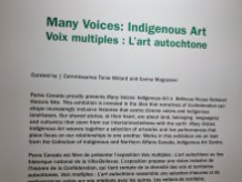 Many Voices: Indigenous Art