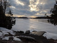 From Haskin's Point in Winter
