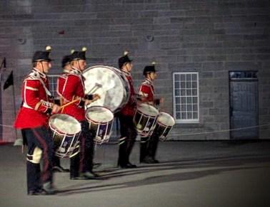 Sunset Ceremony, Fort Henry